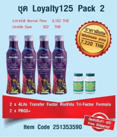 ชุด Loyalty125 Pack 2